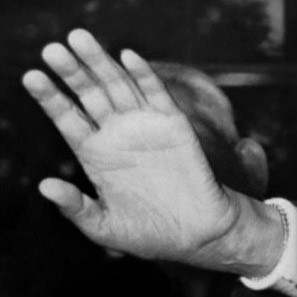 the hand of Mehiya-sama